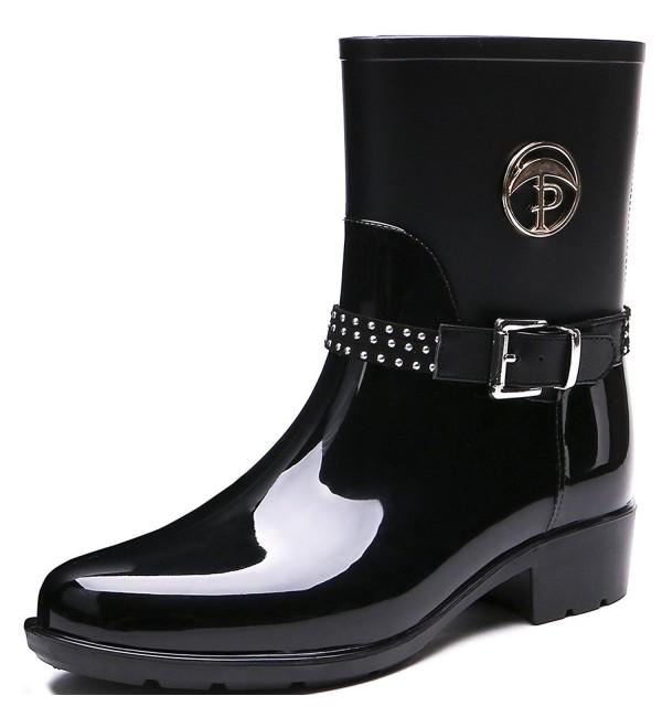 TONGPU Womens Patachwork Footwear Waterproof