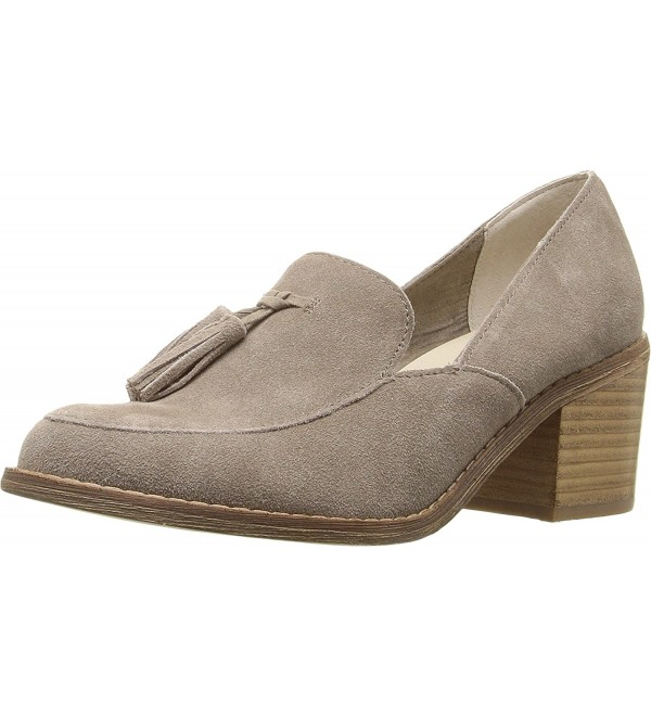 Seychelles Womens Descent Taupe Suede