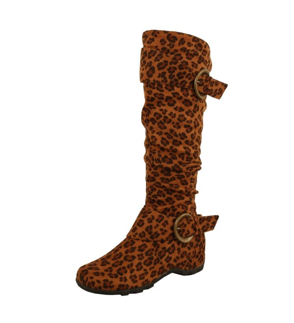 West Blvd Dhaka Boots Leopard