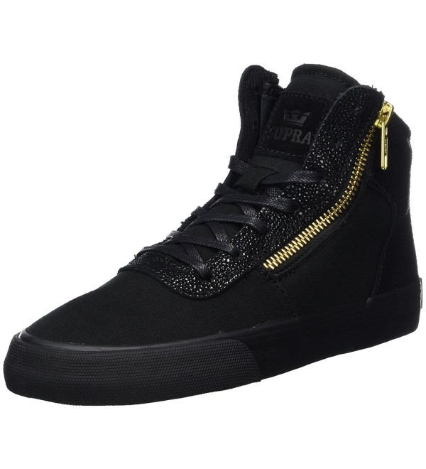 Supra Womens Cuttler Black Shoes
