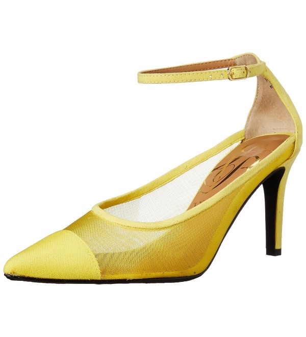 J Renee Womens Jena Dress Yellow