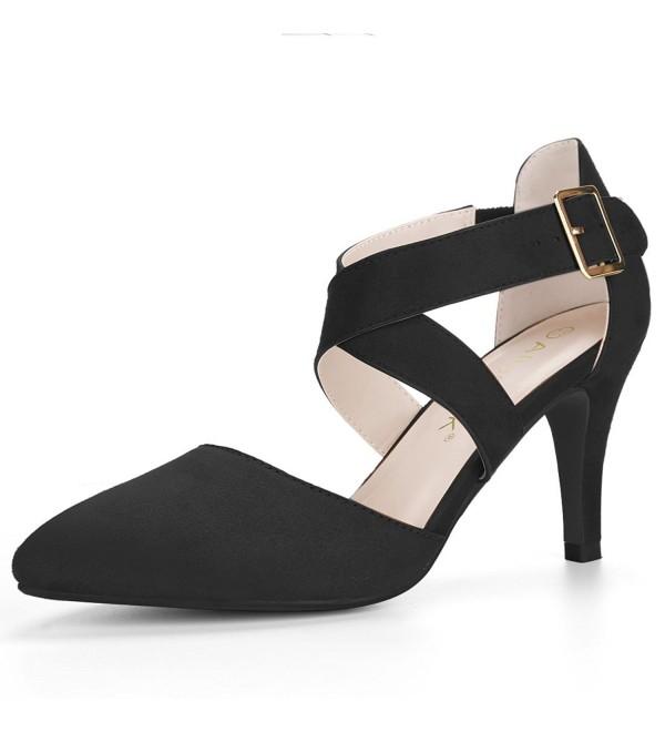 Allegra Womens Crisscross Stiletto Ankle