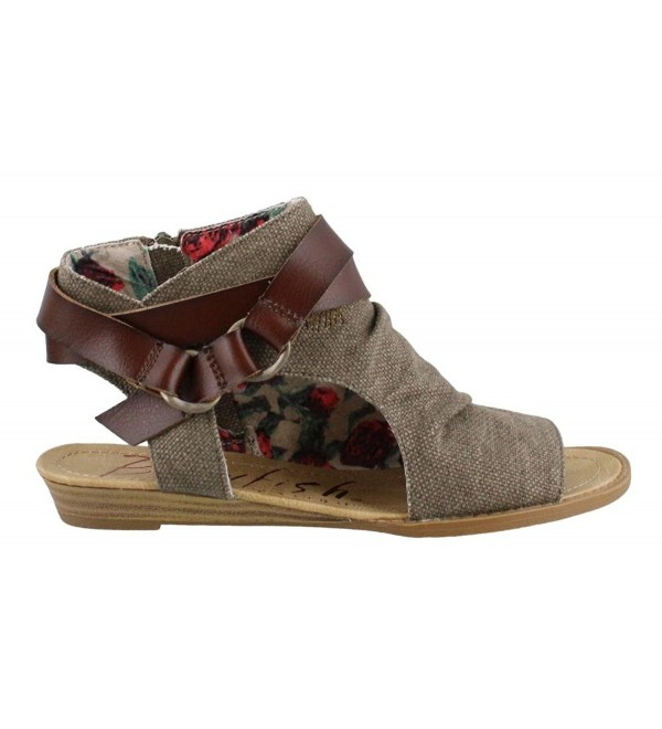 Blowfish Womens basso Sandals Gray