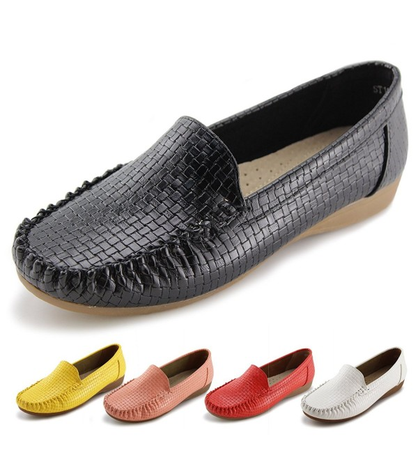 Jabasic Womens Loafers Casual Driving