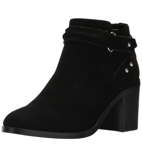 Steve Madden Womens Ankle Black