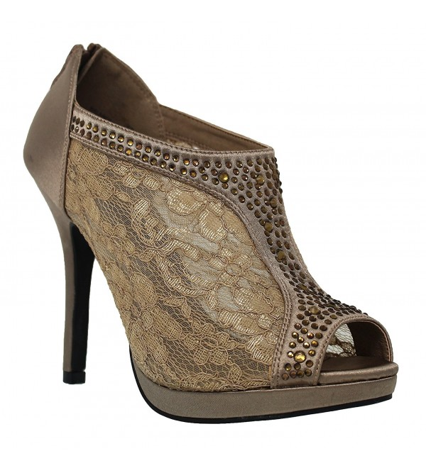 MVE Shoes Womens Platform Shootie