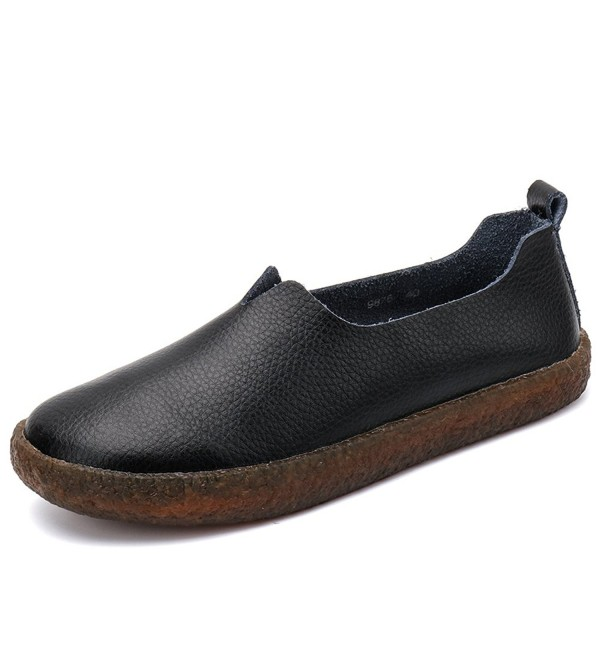 Cooga Classic Leather Cushioned Walking