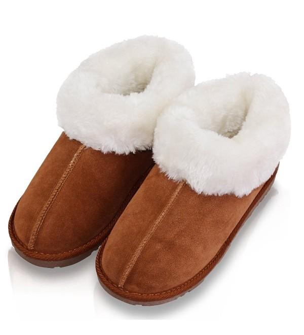 VLLY Genuine Cowhide Outdoor Slippers
