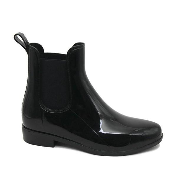 MS2910 Black Ladies Short Ankle