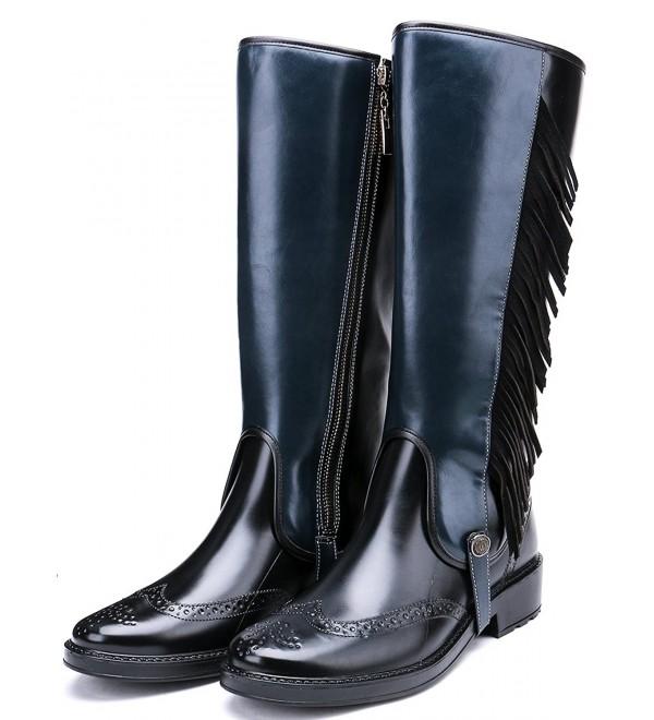 TONGPU Womens Boots Fashion Tassel