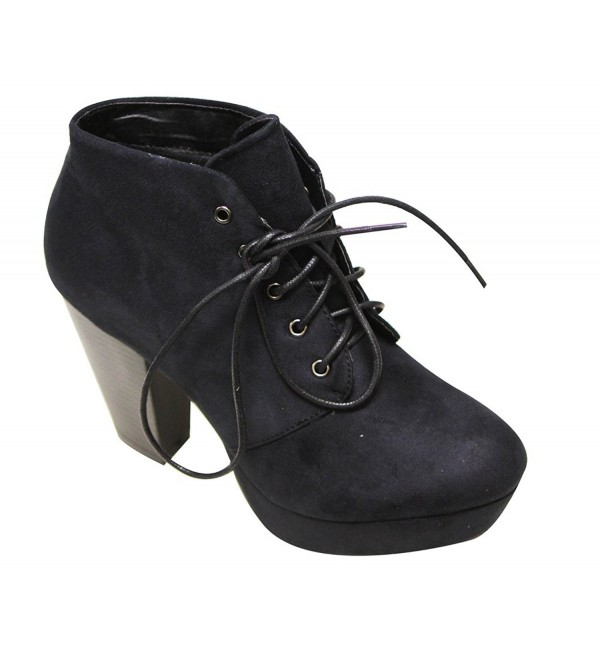 Bella Marie Goldie 21 platform booties