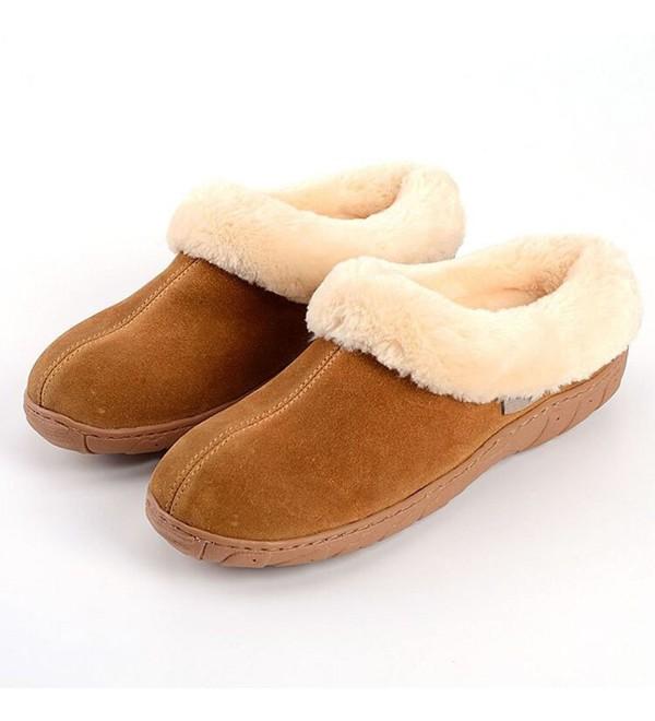 Oyangs Slippers Outdoor Leather Sheepskin