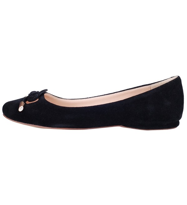 queenfoot Genuine Leather Pointed Comfortable