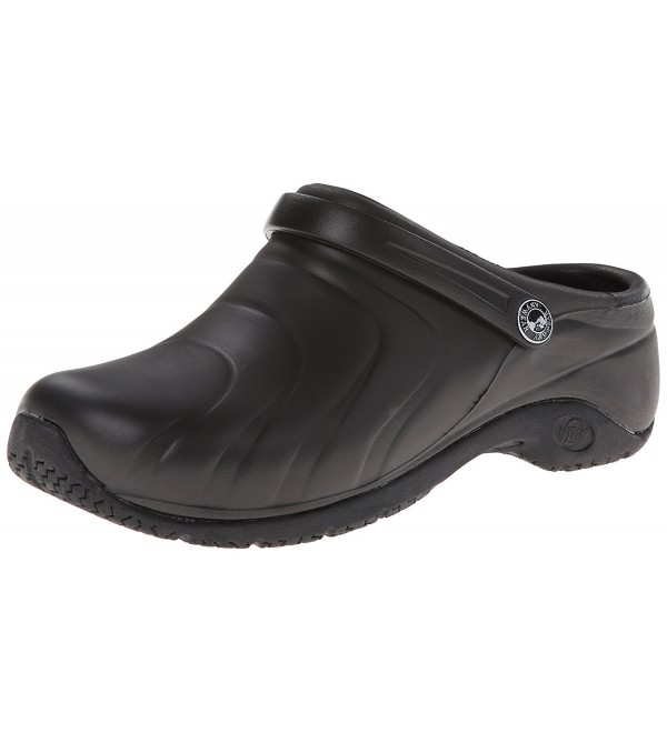 AnyWear Womens Zone Clog Black