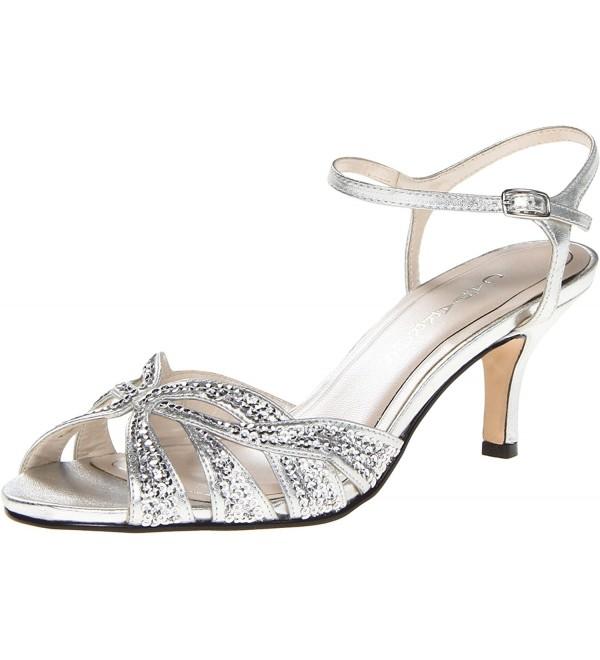 Caparros Womens Heirloom Sandal Silver