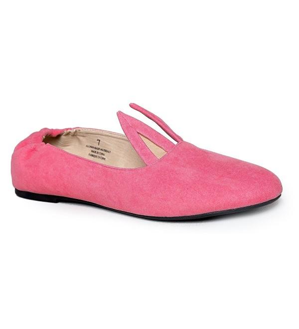 Hopper Bunny Ballet Flats Pink