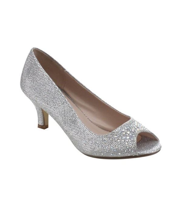 Bonnibel Wonda 2 Womens Glitter Silver