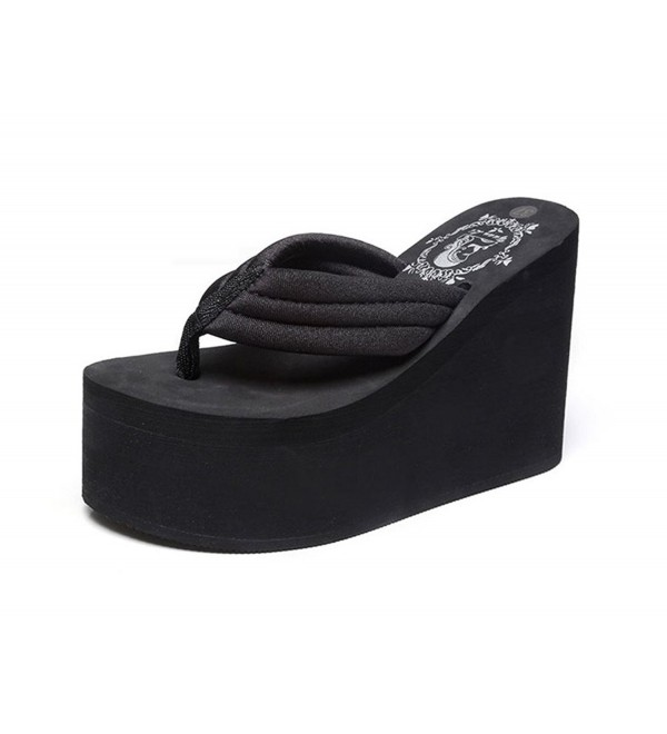 Always Pretty Sandals Platform Black 11cm