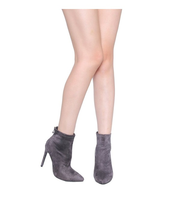 Hedda Graham Booties Fashion Charcoal