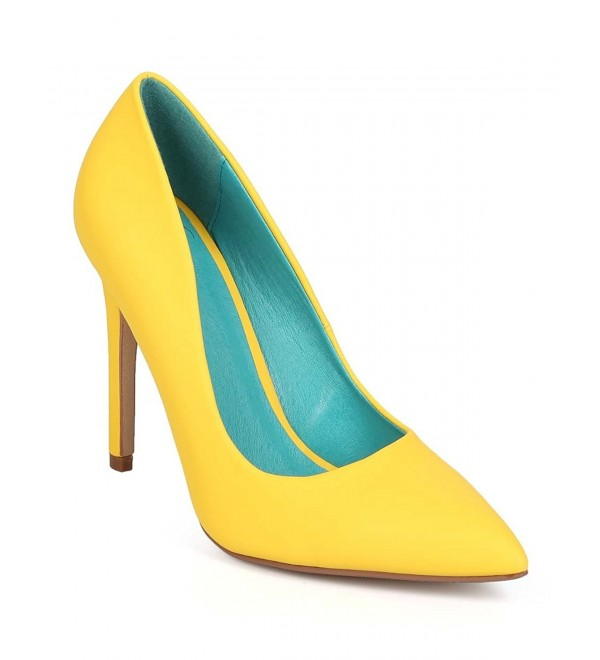 Yellow Cindy Classic Pointy Womens