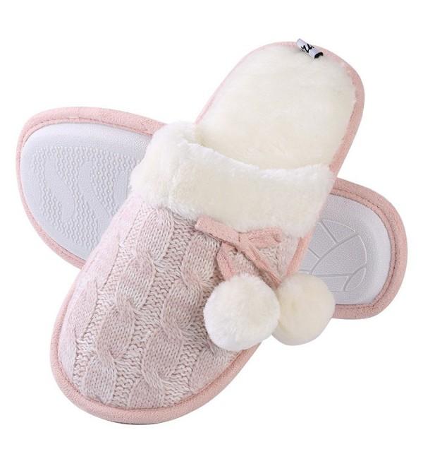 Aerusi Womens Bedroom Slipper Fleece