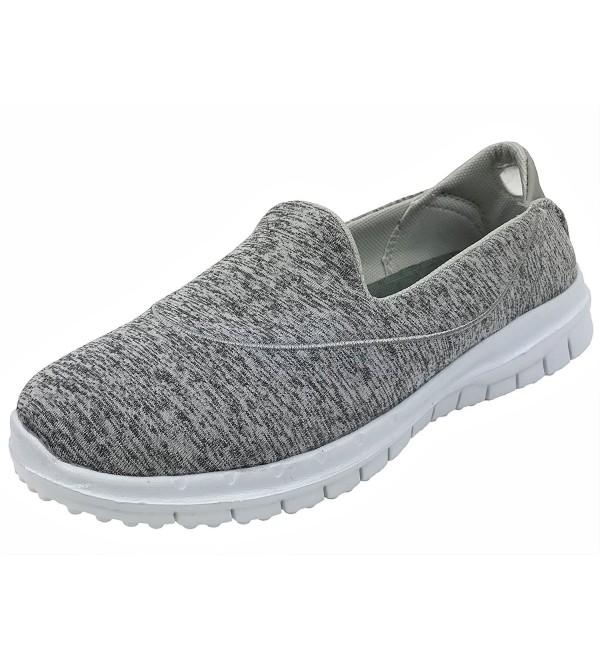 Womens Comfort Walking Sneaker Heather
