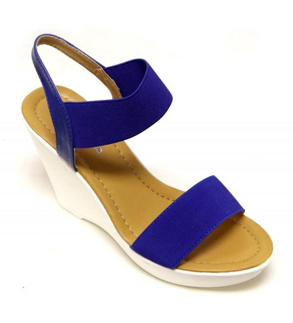 Top Moda platform slingback sandals