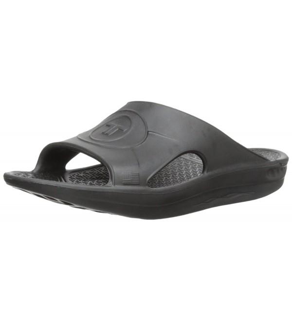 Telic Unisex Slide Sandal Black
