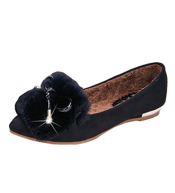 Meeshine Ballerina Slippers Elegant Outdoor