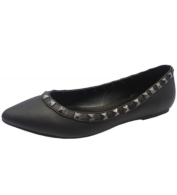 Wild Diva Womens Pointed Studded