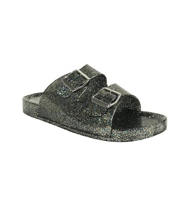QUPID Kind 1 Womens Glitter Sandals