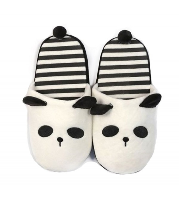 Blandice Womens Animal Slippers Striped