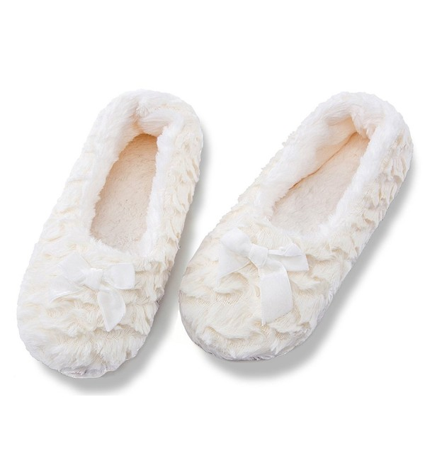 MaaMgic Womens Christmas Slippers Bedroom