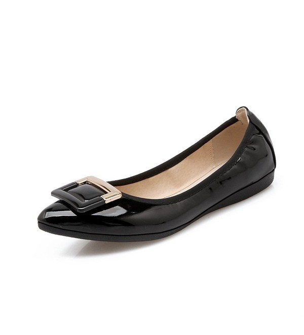 Meeshine Womens Casual Pointed Comfort