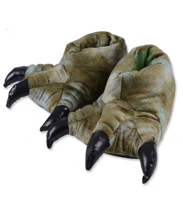 KushyShoo Stuffed Animal Slippers Plush