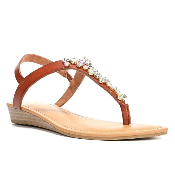 Fergalicious Womens Casual T Strap Sandals