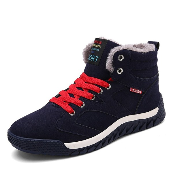 JACKSHIBO Lined Winter Boots Sneakers
