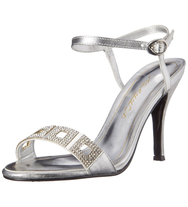 Caparros Womens Vogue Sandal Metallic