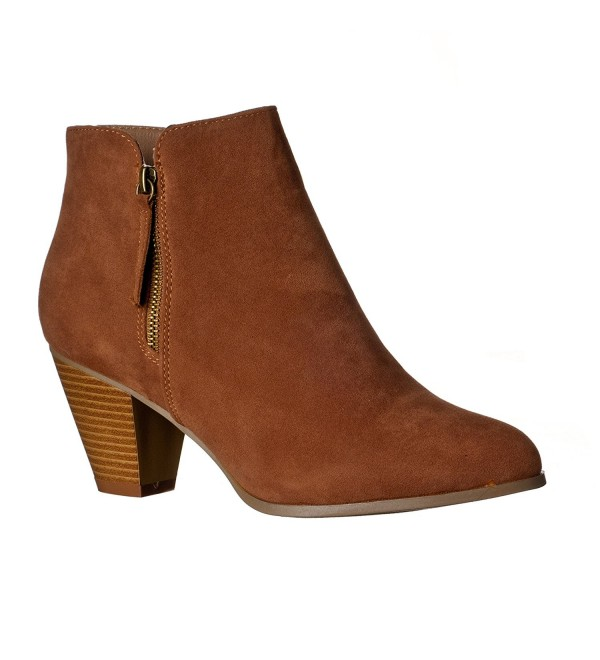 Riverberry Womens Chunky Fashionable Booties