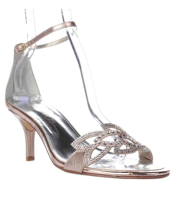 Caparros Cabaret Women Gold Heels