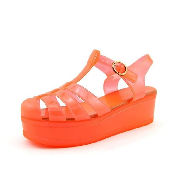 Wanted Womens Jellypop Sandal Orange
