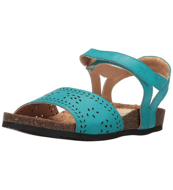 Annie Womens Huarache Sandal Turquoise