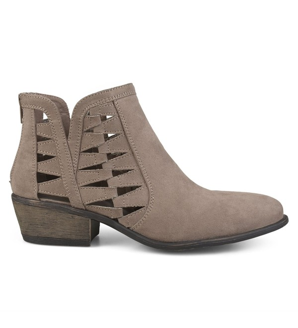 Brinley Co Cut Out Booties Regular