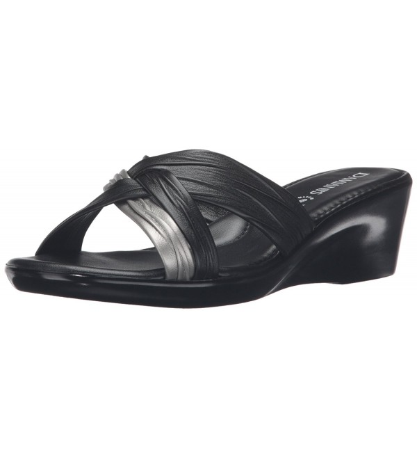 Italian Shoemakers Womens Wedge Sandal