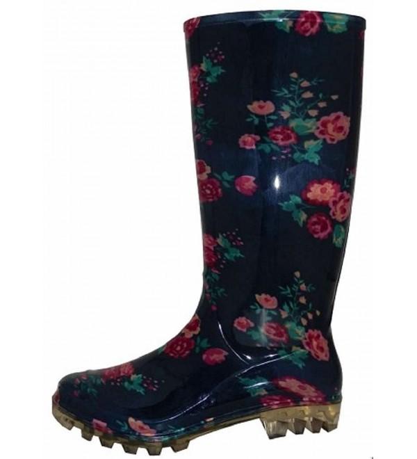 Shoes8teen Womens Basic Rain Boots
