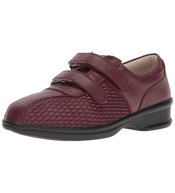 Propet Womens Mabel Oxford Wine