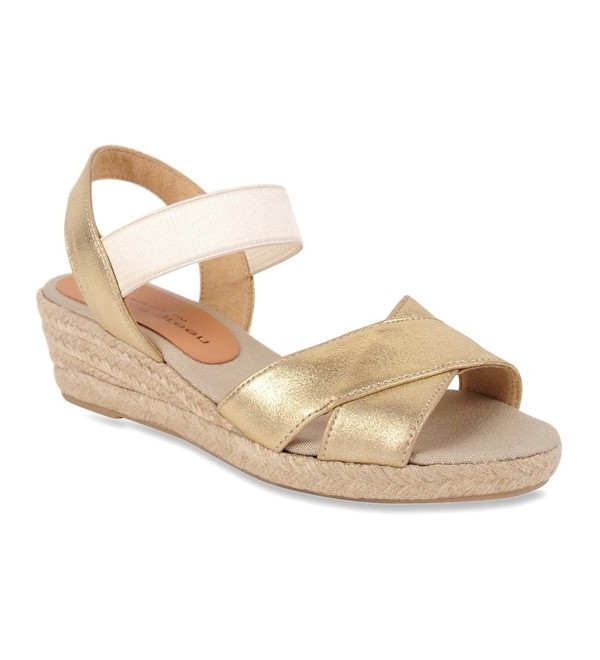 Patricia Green Womens Metallic Sandal