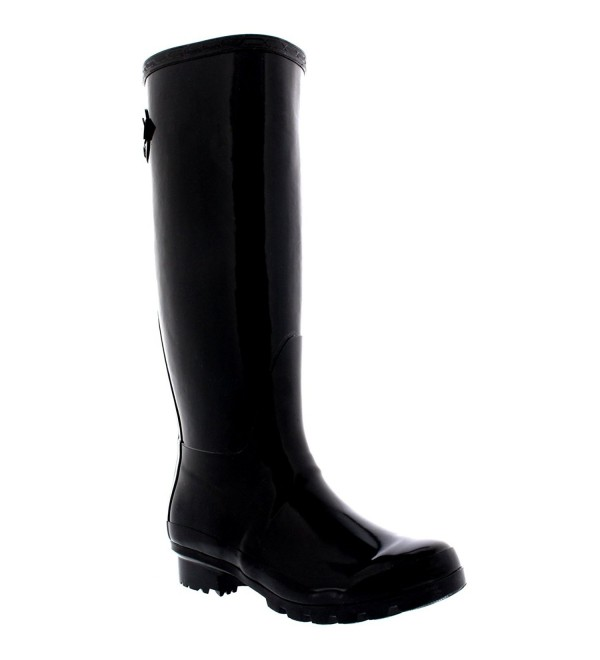 Womens Adjustable Wellington Winter Wellies