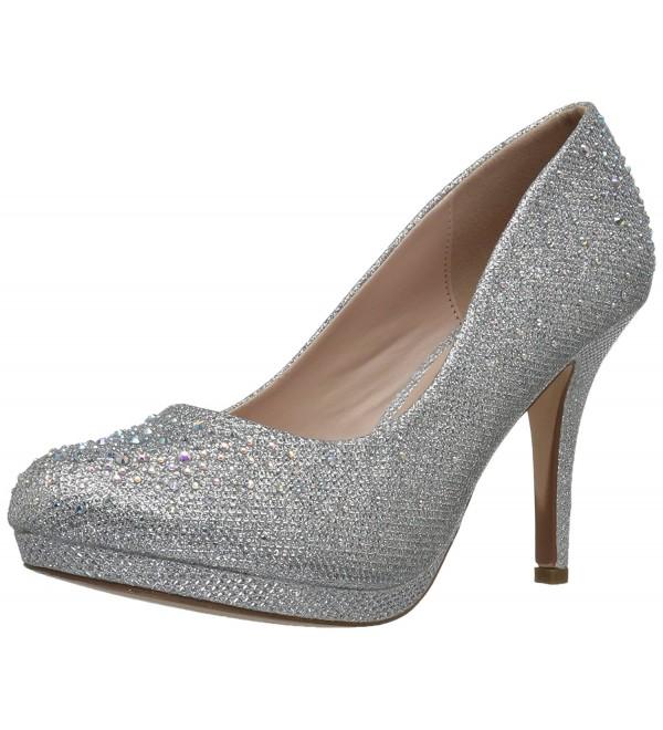 Pleaser Womens Covet02 Glitter Fabric