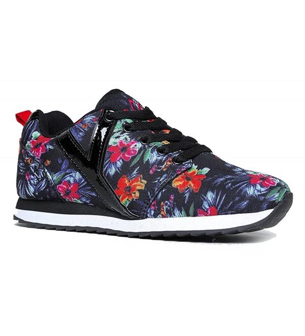 Shoes Metllic Athletic Seaker Tropical